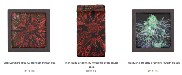 Marijuana Art Gifts